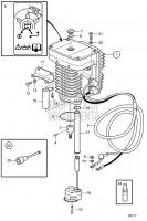 Steering Motor EVC-C D6-310D-B, D6-310D-C, D6-330D-B, D6-330D-C, D6-370D-B, D6-370D-C, D6-435D-A, D6-435D-C, IPS-B, D6-370D-A