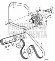 Alternator with Installation Parts. SN2004029745- D4-180I-B, D4-180I-C, D4-180I-D, D4-180I-E, D4-210A-A, D4-210I-A, D4-210I-B, D4-225I-B, D4-225A-C, D4-225A-D, D4-225I-C, D4-225I-D, D4-260A-A, D4-260D-B, D4-260D-C, D4-260D-D, D4-260I-A, D4-260I-B, D4-260I-C, D4-260I-D, D4-300D-A, D4-300D-C, D4-300I-A, D4-300I-C, D4-300I-D, D4-225A-E, D4-225I-E, D4-260D-E, D4-260I-E, D4-300D-E, D4-300D-D, D4-300I-E, D4-210A-B