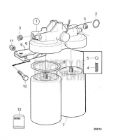 Fuel Filter, Classifiable System. Earlier Production.