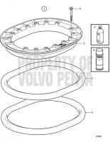 Mounting Kit, Clamp Ring D6-310D-B, D6-310D-C, D6-310D-D, D6-330D-B, D6-330D-C, D6-330D-D, D6-370D-B, D6-370D-C, D6-370D-D, D6-310D-E, D6-330D-E, D6-370D-E, D6-435D-A, D6-435D-D, D6-435D-C, D6-435D-E, IPS-A, IPS-B, IPS-C, IPS-D, IPS-E, IPS-F, D6-370D-A