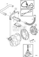 Connecting Kit Reverse Gear HS63AE D6-280I-A, D6-280I-B, D6-280I-C, D6-280I-D, D6-280I-E, D6-310I-A, D6-310I-B, D6-310I-C, D6-310I-D, D6-330I-B, D6-330I-C, D6-330I-D, D6-310I-E, D6-330I-E