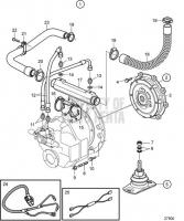 Connecting Kit Reverse Gear HS80AE D6-310I-A, D6-310I-B, D6-310I-C, D6-310I-D, D6-330I-B, D6-330I-C, D6-330I-D, D6-370I-A, D6-370I-B, D6-370I-C, D6-370I-D, D6-310I-E, D6-330I-E, D6-370I-E