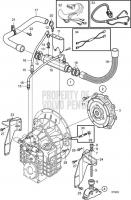 Connecting Kit Reverse Gear HS80VE, HS85IVE D6-435I-C, D6-435I-D, D6-435I-E