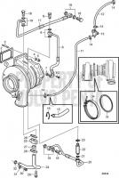 Turbocharger D13B-E MH, D13B-N MH
