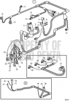 Electrical System, SN-2004017198 D4-260A-A, D4-260A-B, D4-260D-B, D4-300A-A, D4-300D-A