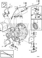Reversing Gear ZF335A-E D13B-A MP, D13B-H MP