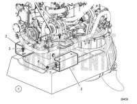 Repowering Kit MD21 to D2-55/75 S-Drive D2-75, D2-75B, D2-75C, D2-60F, D2-75F