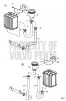 Seawater Strainer Kit V8-300-CE-G, V8-350-CE-G, V8-300-CE-H, V8-350-CE-H