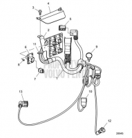 Wiring Harness Inboard D8A1-A MP