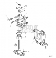 Подушки Двигателя for IPS D8A2-A MP