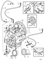Connecting Components Reverse Gear ZF325IV-E D13C1-A MP
