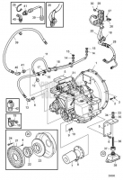 Connecting Components Reverse Gear MGX-5096A D13C1-A MP, D13C2-A MP, D13C3-A MP, D13C4-A MP