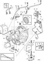 Connecting Components Reverse Gear ZF335A-E D13C2-A MP