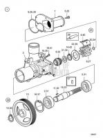 Sea Water Pump, Components D6-300I-F