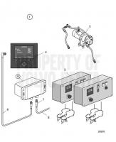 Trailing Pump, Quad Installation D13C2-A MP, D13C4-A MP