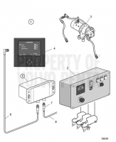 Trailing Pump, Triple Installation D13C2-A MP, D13C4-A MP