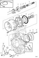Jack Shaft Kit D6-280A-A, D6-280A-B, D6-280A-E, D6-310A-A, D6-310A-B, D6-310A-C, D6-310A-D, D6-330A-B, D6-330A-C, D6-330A-D, D6-350A-A, D6-350A-B, D6-370A-B, D6-370A-C, D6-370A-D, D6-310A-E, D6-330A-E, D6-370A-E, D6-400A-E, DPH-A, TSK DPH-B, DPR-A, DPR-B