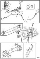 Connecting Components IPS3, Jack Shaft, Length Std 370mm D13C2-A MP, D13C4-A MP