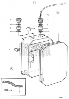 Electrical Box for Single Electrical System: 838419 TAMD71B, TAMD73P-A, TAMD73WJ-A