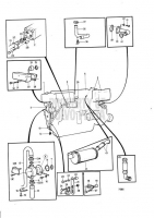 Cooling System, Induction- and Exhaust Manifold: B TMD40C