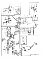 COOLING SYSTEM INDUCTION AND EXHAUST MANIFOLD: B AQAD40B