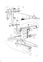 Steering Mechanism, Fly Bridge Roto Pilot AQ120B, AQ125A, AQ140A, BB140A