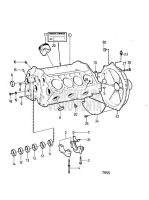 Cylinder Block and Flywheel Cover AQ231A