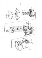 Alternator 14V 130A, Components TAMD71B, TAMD73P-A, TAMD73WJ-A