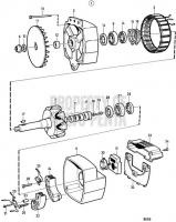 Alternator 28V 100A, Components TAMD71B, TAMD73P-A, TAMD73WJ-A