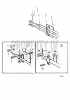 Mounting Kit Double Control Cables: 853218 TAMD71B, TAMD73P-A, TAMD73WJ-A