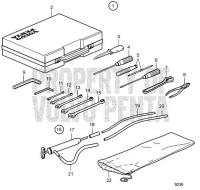 Tool Kit KAD42P-A, KAMD42P-A