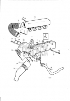 Inlet and Exhaust Manifold and Installation Components MD31A