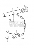 Exhaust Thermo Switch Control MD2010-C, MD2010-D, MD2020-C, MD2020-D, MD2030-C, MD2030-D, MD2040-C, MD2040-D