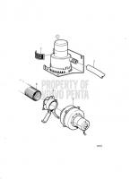 Bilge Pump and Engine Room Fan KAD42P-A, KAMD42P-A